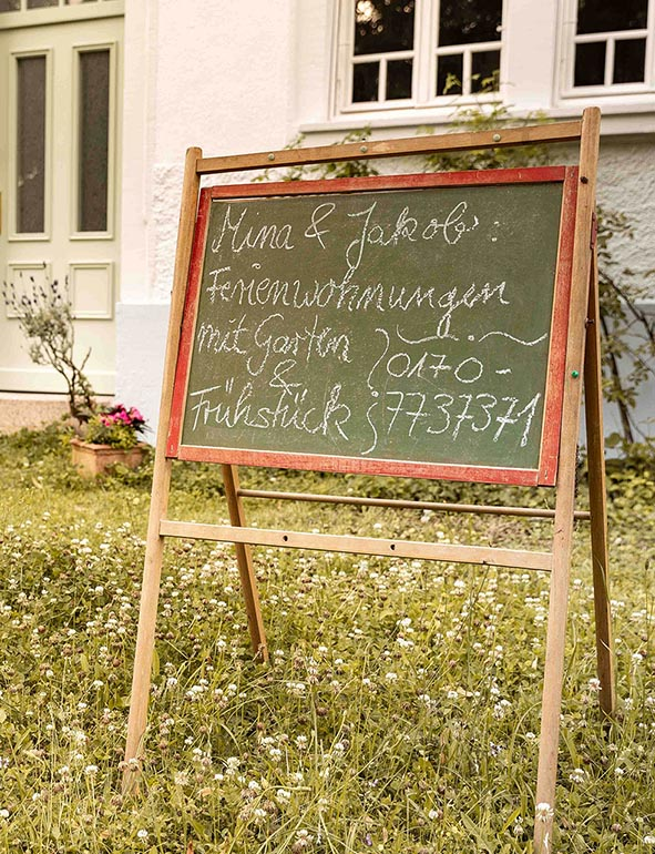 Mina & Jakob Gästehaus Grenzhof Heidelberg / Foto: cosmochrome.de
